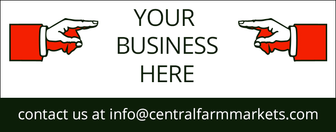 Advertise your business on the Central Farm Markets website